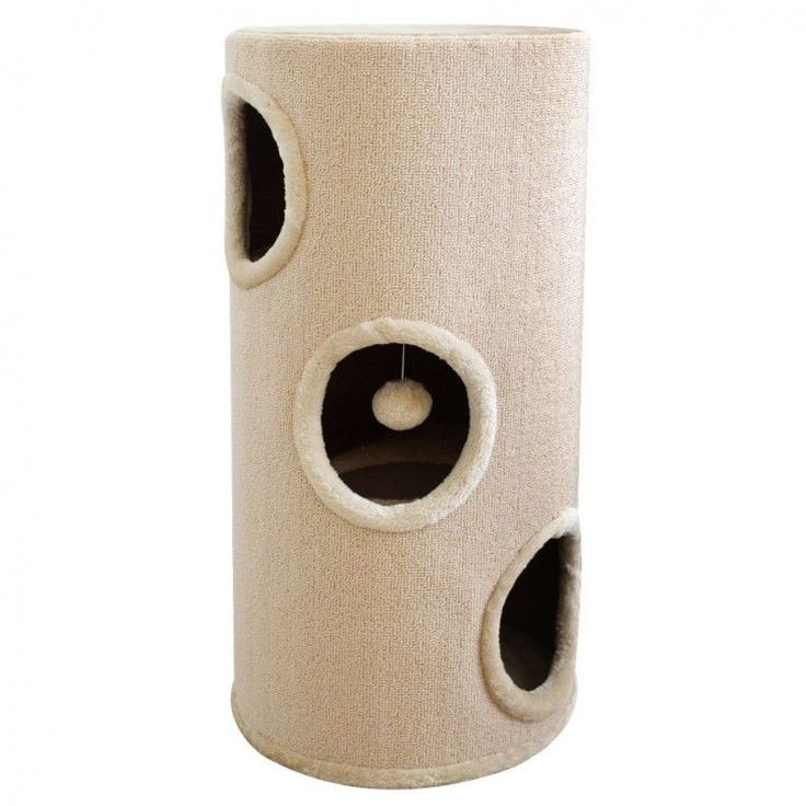 Cat Scratching Tower Cathouse Home Ball Toy Relaxing Area Playground Kitten Tree #CatScratchingTower