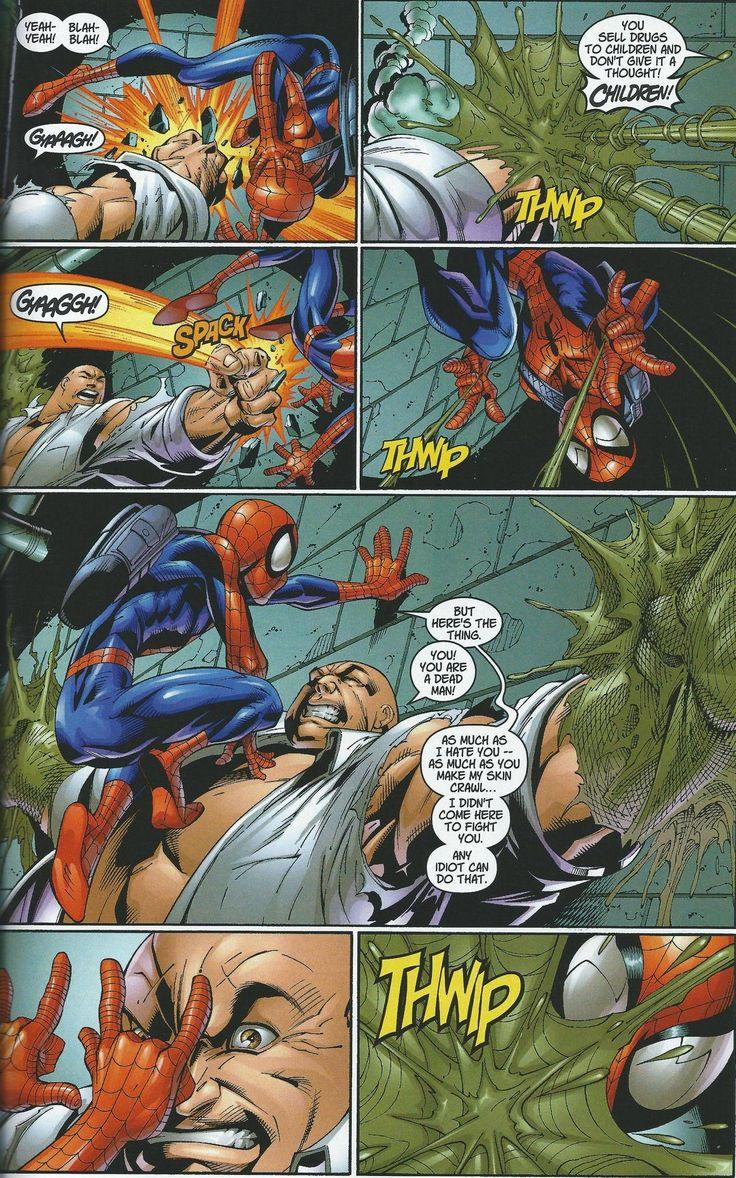 ULTIMATE SPIDER-MAN/kingpin