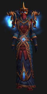 Priest Xmog - Regalia of the Chromatic Hydra (Lookalike) - Transmog Set - World of Warcraft