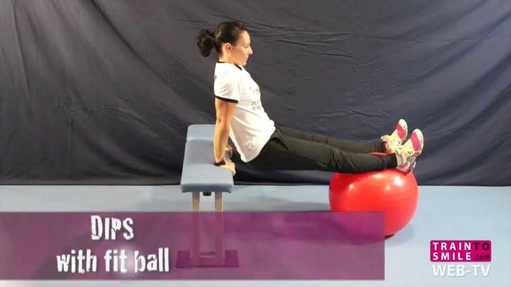 How to do DIPS with fit ball (+playlist)