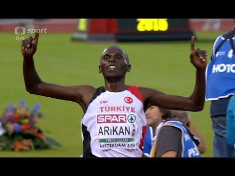 Polat Kemboi Arikan 10000m FINAL Men's HD European Athletics Championshi...
