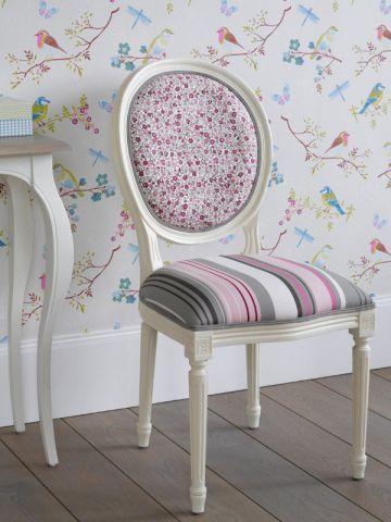 Chaise médaillon Trianon