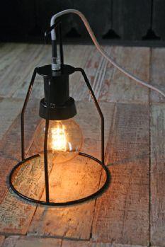 Black Walker Light with Grey Flex and Storage Rack