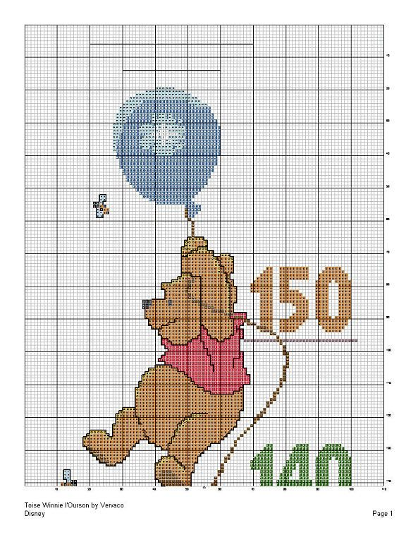 Pooh Height Chart 2/4