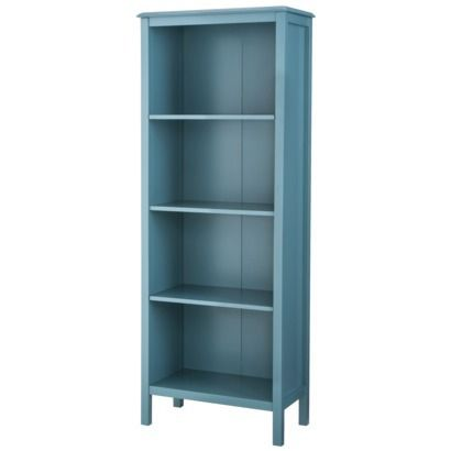 "Target Threshold™ Windham 4-Shelf Bookcase $139.99 Dimensions: 60.0 "" H x 22.68 "" W x 12.4 "" D"