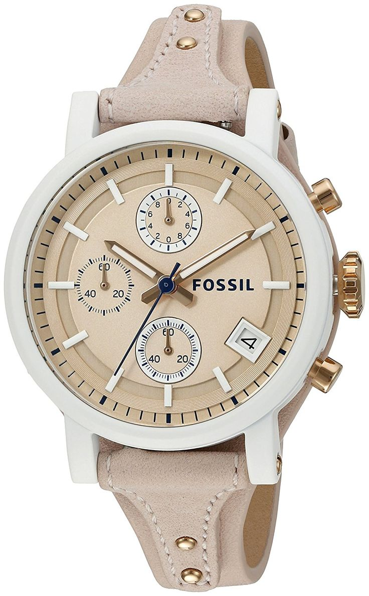 Fossil Original Boyfriend Sport Chronograph Leather * Want to know more about the watch, click on the image.