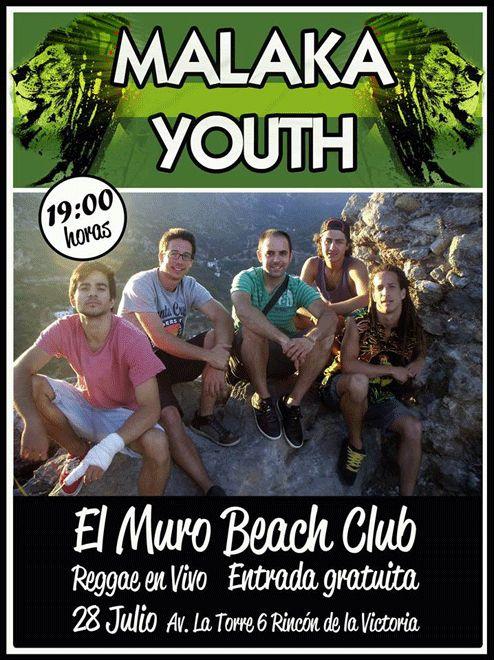 Malaka Youth en el Chiringuito El Muro - Rincon de la Victoria - MÁLAGA - Pull Up Party
