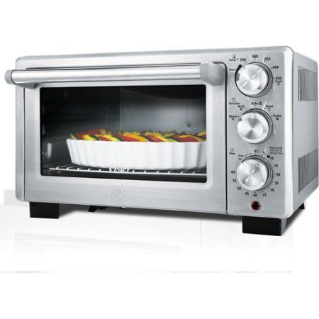 Oster TSSTTVDFL2 Turbo Convection Heat Technology Designed for Life Convection Toaster Oven, Silver Color