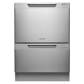 Fisher & Paykel 24-in 53-Decibel Double Drawer Dishwasher (Stainless Steel) ENERGY STAR