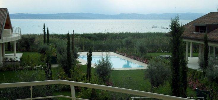 Sirmione: Attico vista lago Sirmione Lago di Garda fronte lago