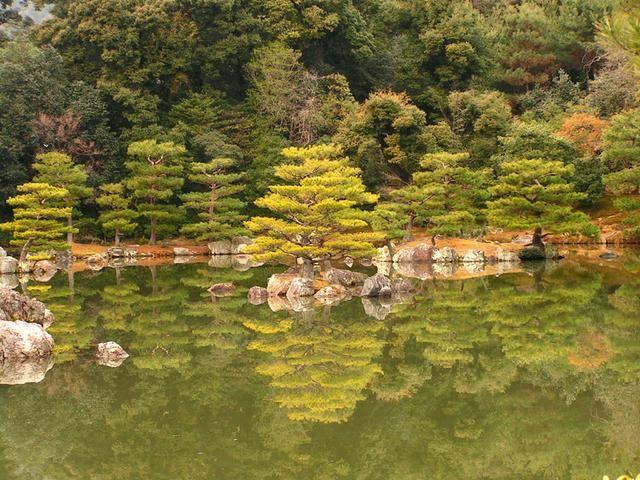 Jezero v zenové zahradě
