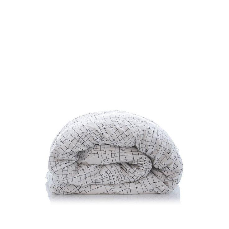 white net organic cotton duvet