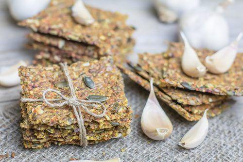 TODAS LAS RECETAS : Crackers de semillas sin gluten y sin lactosa