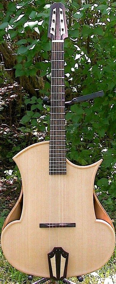 Les Godfreys Djanguar acoustic Guitar --- https://www.pinterest.com/lardyfatboy/