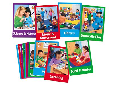 Learning Center Poster Pack at Lakeshore Learning