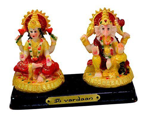 Indian Hand Carved God & Goddess Laxmi Ganesha Resin Idol Sculpture Statue 3 Inches Krishna Mart India http://www.amazon.com/dp/B016THN2KW/ref=cm_sw_r_pi_dp_zyaywb1Q2QVAX