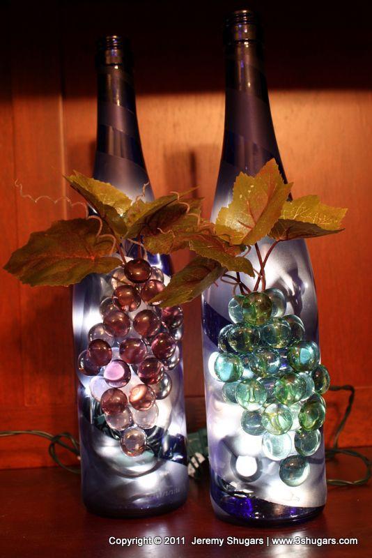 Ideas To Decorate Glass Bottles 813 Best Wine Bottles & Glass Bottles Images On Pinterest  Wine