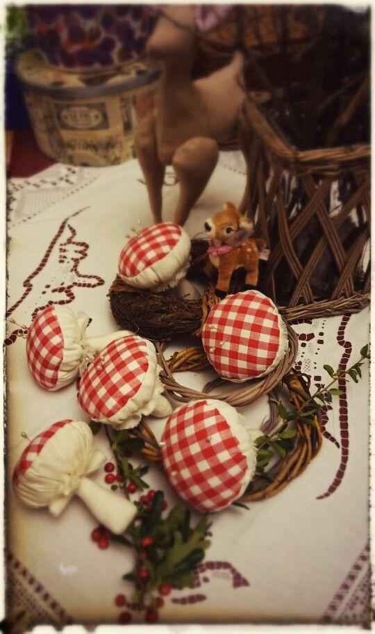 Mushrooms Cucito Creativo