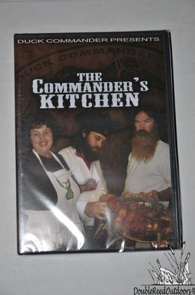 Duck Commander Calls DVD - THE COMMANDERS KITCHEN