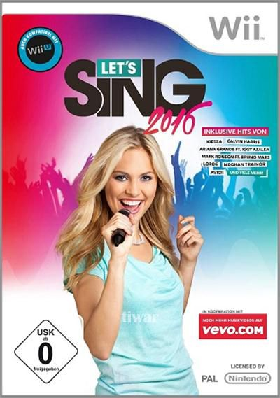 imagen Let's Sing 2016 [WII] [PAL] [Español/Multi]