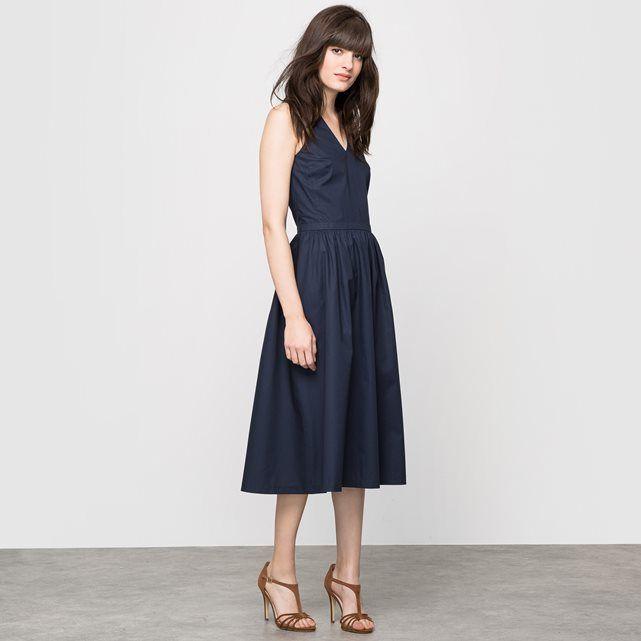 фото Платье без рукавов, с американскими проймами, 100% хлопка LAURA CLEMENT