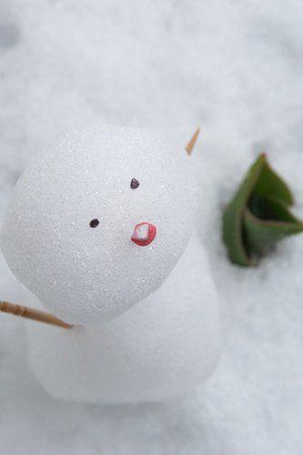 雪だるま  in Japan Ise Shima