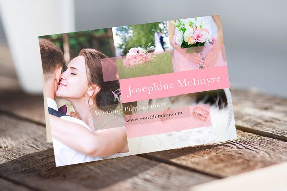 Printable Postcard Template MS Word template Photo Card