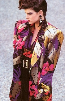 1980s shoulders ---> and I wore stuff like this!  Gasp!
