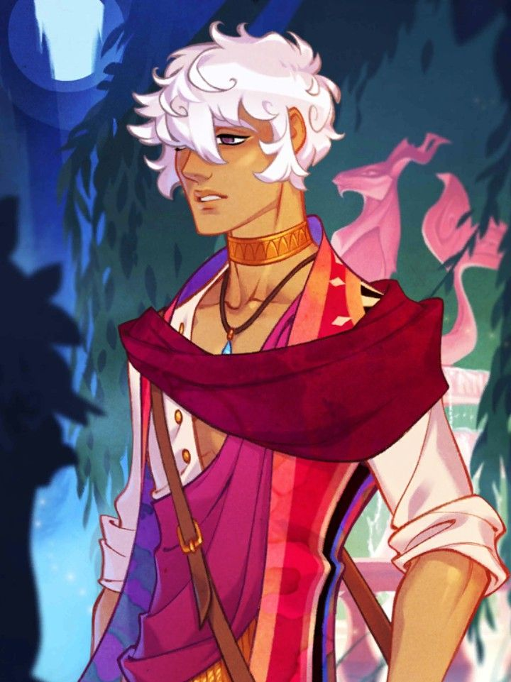 Asra The Magician from the mobile game