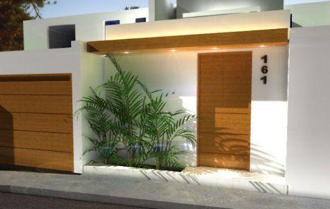 fachada de casa pequeña moderna - Pesquisa Google