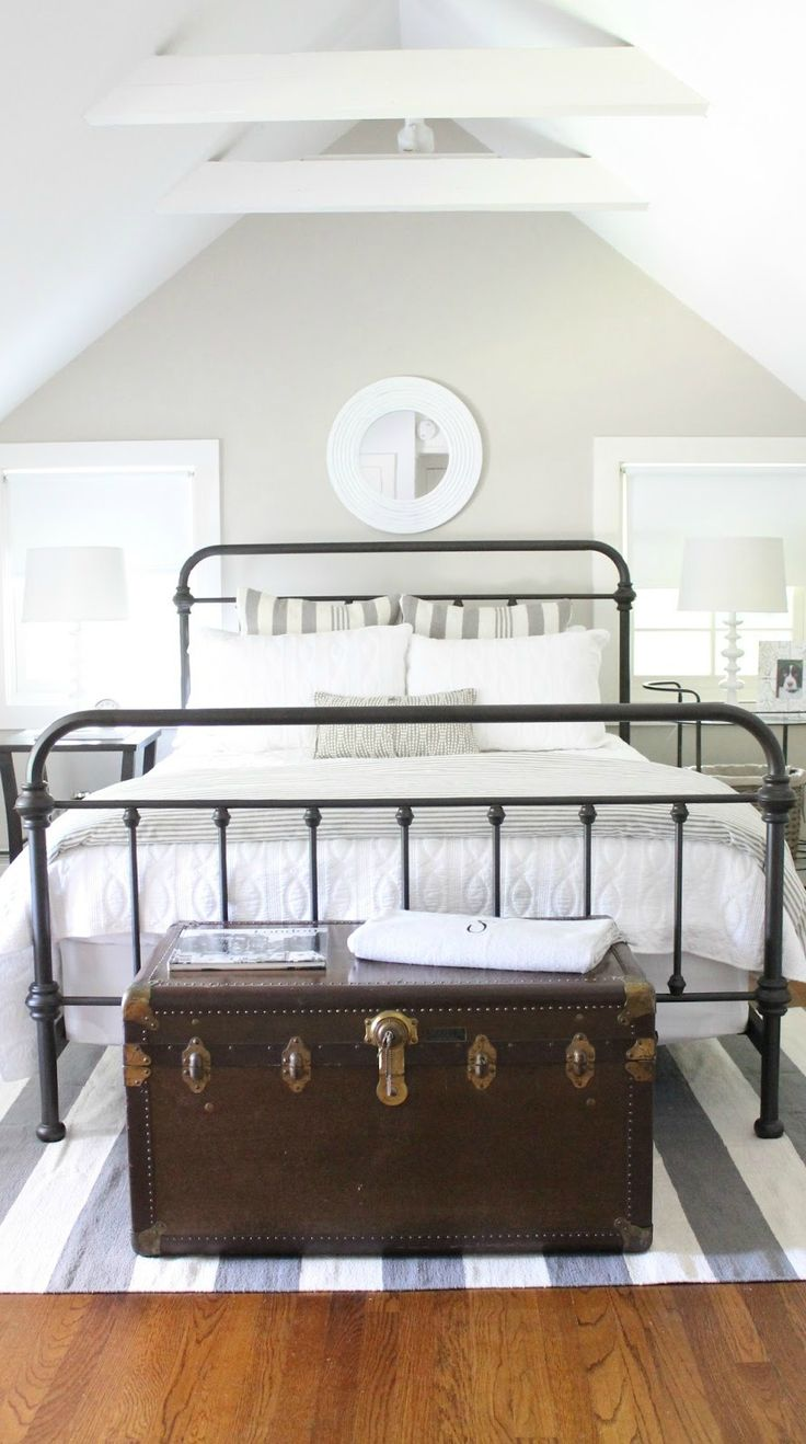 Guest bedroom makeover paint swatches neutral wall for Neutral shades for walls