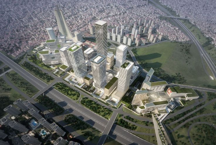 New Istanbul International Financial Center Master Plan / HOK