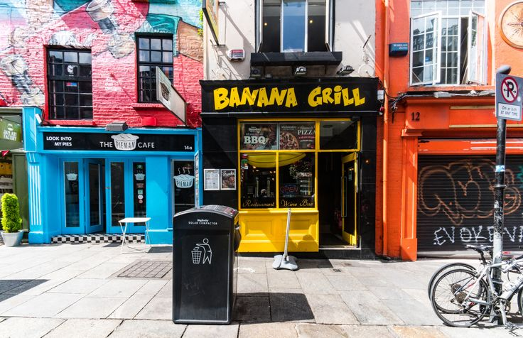 THE BANANA GRILL [13 CROWN ALLEY IN TEMPLE BAR]-119200 by infomatique