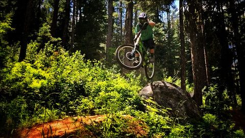 Teton pass Freeride mtb.