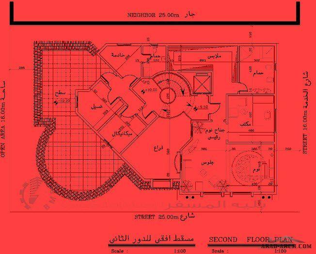 مخطط لقسيمه 400 متر 3 شوارع تصميم مكتب بليه المسفر للاستشارات الهندسيه Arab Arch Villa Design How To Plan Plan Design