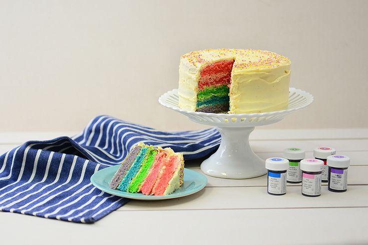 Amazing Cake Recipes Uk: Best 25+ Rainbow Layer Cakes Ideas On Pinterest