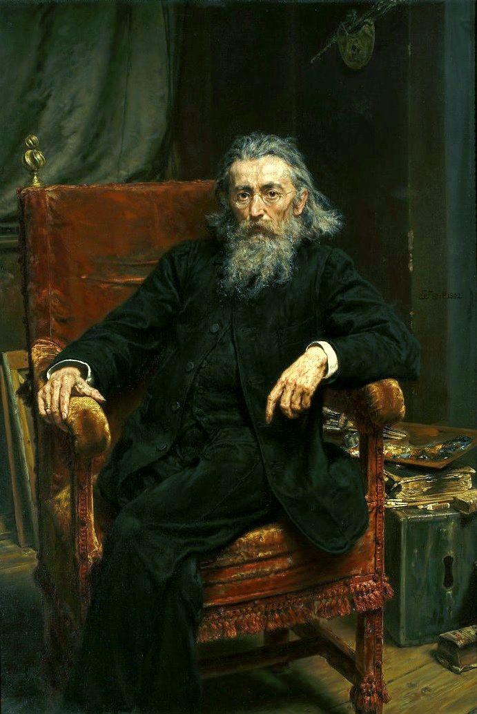 Jan Matejko (Polish, 1838-93), self-portrait 1892.