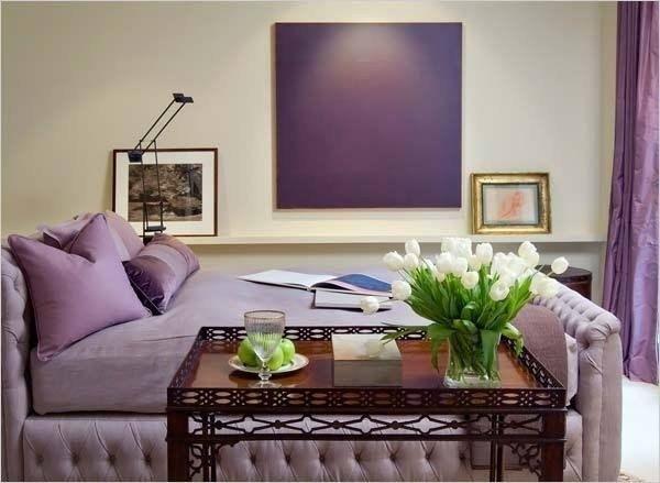 Подборка интерьеров в фиолетовом цвете. - Дизайн интерьеров   Идеи вашего дома   Lodgers