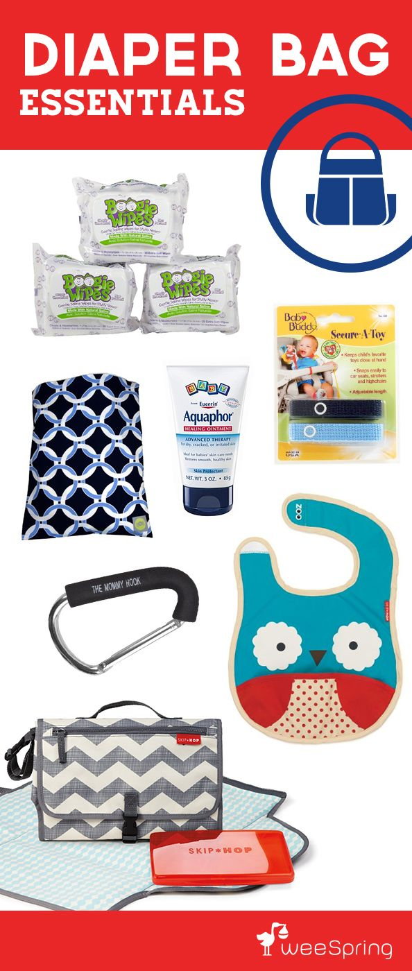 """Give an expecting mom everything she'll need to stock her diaper bag (with a cute printable """"survival kit"""" card!). 