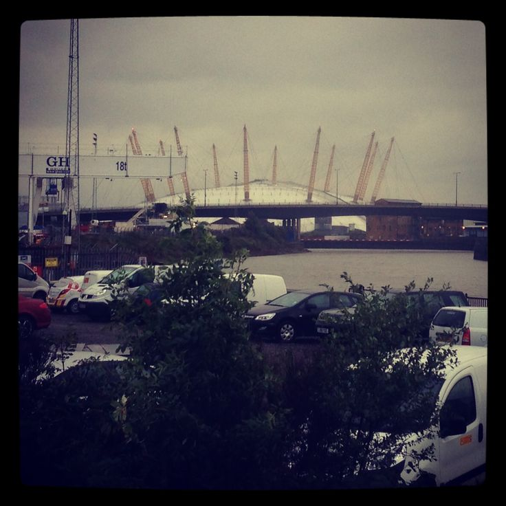 O2 Arena seen from Canning Town