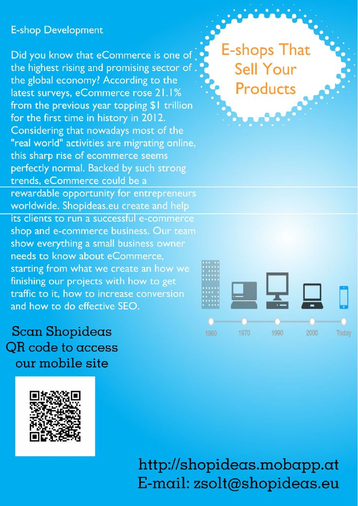 #Responsive #Mobile and #Web Design - Modern E-shops Developed by #Shopideas | edocr