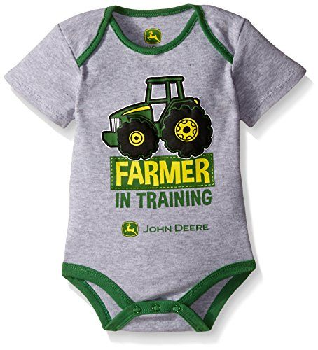 John Deere Baby Farmer In Training Bodyshirt, Heather Gre... https://www.amazon.com/dp/B019EHFORI/ref=cm_sw_r_pi_dp_H6-AxbW1V7QAZ