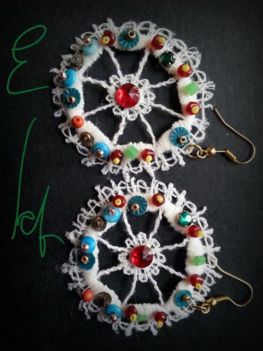 orecchini ruota carretto sicilia di E lab jewels https://www.facebook.com/pages/E-lab-jewels/763351660369510?fref=ts