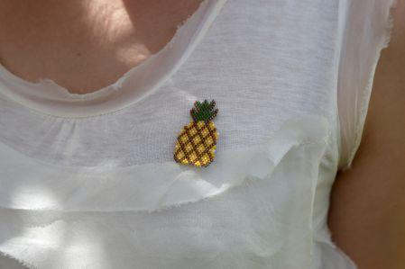 Ananas Broş
