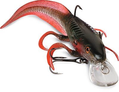 fishing lure  Salamander......it is part hard plastic and part soft plastic.