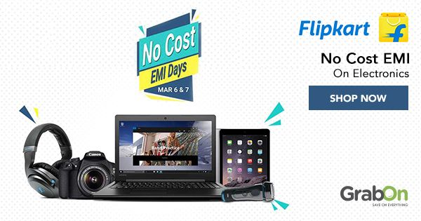 No Cost EMI Days at #Flipkart! All the #gadgets you need without any extra cost!  #mondaymotivation #tech #Deals