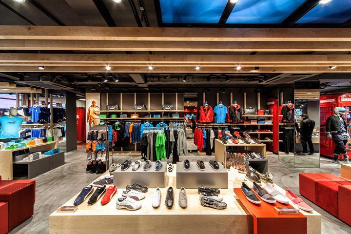 Sports Store   Retail Design   Shop Interior   Sports Display   Puma store by Plajer & Franz Studio, London store design