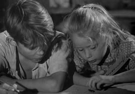 Top Ten World Cinema: Forbidden Games a.k.a. Jeux interdits (1952, France) Director: Rene Clement    The reason for its perceptively simple view of war-torn France is because of the story's touching perspective: Told from a child's point of view, she's at first resilient even to becoming an orphan, which makes her final and most gut-wrenching sadness over being separated from her little playmate, a tragedy personified.