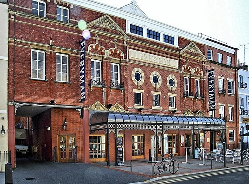 The Everyman Theatre in the centre of Cheltenham