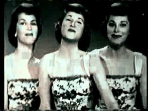 #1 song February 17, 1958 -   Sugartime - The McGuire Sisters 1958 - YouTube